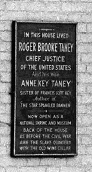 Detail of Marker in 1936 photo image. Click for full size.