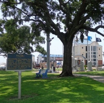Biloxi Marker image. Click for full size.
