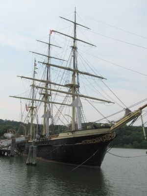 Training Ship Joseph Conrad image. Click for full size.