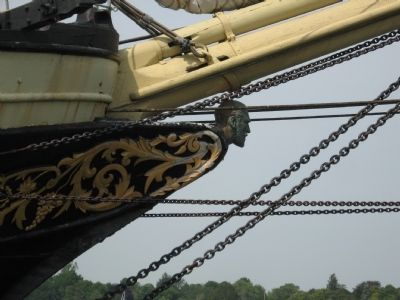 Figurehead of the Training Ship Joseph Conrad image. Click for full size.