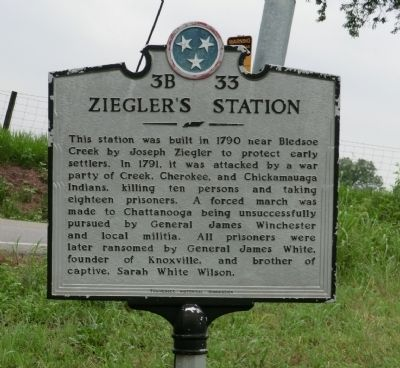Ziegler's Station Marker image. Click for full size.