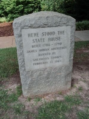 Here Stood The State House Marker image. Click for full size.