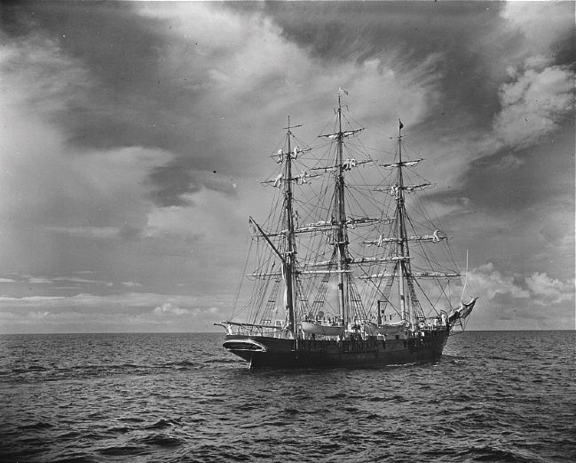 "The Training Ship ""Joseph Conrad"" (between 1939-1945) image. Click for full size."