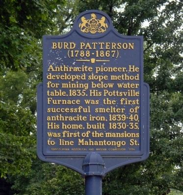 Burd Patterson Marker image. Click for full size.