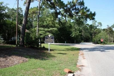 Entrance to The Springs Park (Next To The Stop Sign) image. Click for full size.
