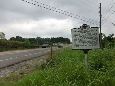 """The Hartsville Races"" Marker image, Touch for more information"