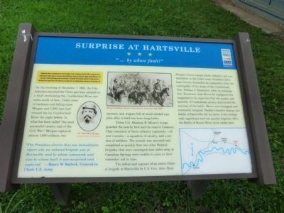 Surprise at Hartsville Marker image. Click for full size.