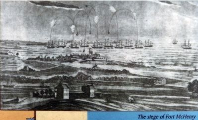 The Seige of Fort McHenry image. Click for full size.