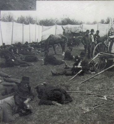 Encampment of Coxey's Army image. Click for full size.