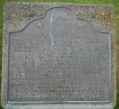 Treasure Island Marker image. Click for full size.