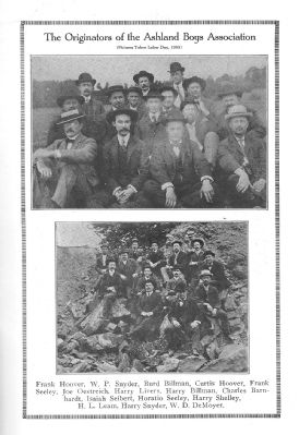 The Originators of the Ashland Boys' Association image. Click for full size.
