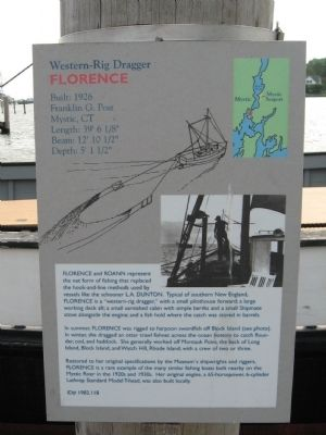 Western-Rig Dragger Florence Marker image. Click for full size.