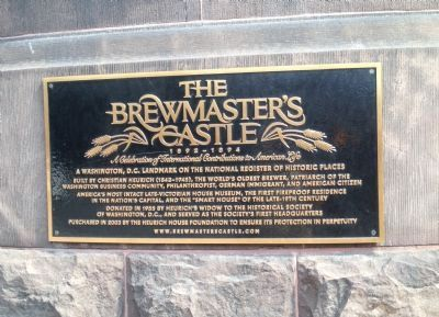 The Brewmaster's Castle Marker image. Click for full size.