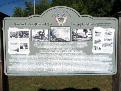 Niles - A Transportation Center Marker image. Click for full size.