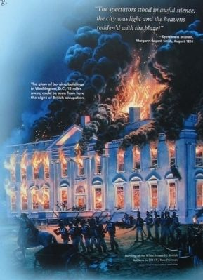 Burning of the White House image. Click for full size.