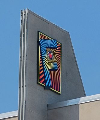 The Fillmore Logo<br> on the pylon. image. Click for full size.