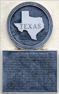 Reedy Chapel A. M. E. Church Marker image. Click for full size.