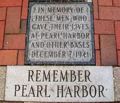 Remember Pearl Harbor Marker image. Click for full size.