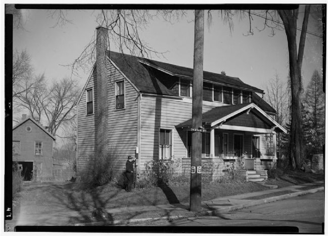 The Drumm Homestead, West State & Green Streets, Johnstown, Fulton County, NY image. Click for full size.