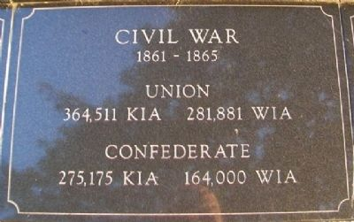 War Memorial Civil War Marker image. Click for full size.