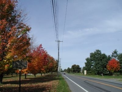 Southern Approach to Peach Orchard Marker image. Click for full size.