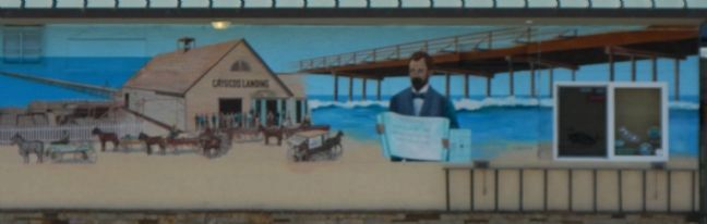 Cayucos by the Sea Mural image. Click for full size.