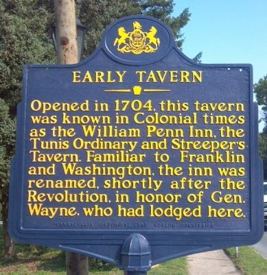 Early Tavern Marker image. Click for full size.