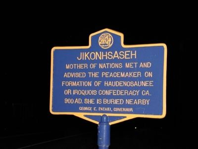 Jikonhsaseh Marker image. Click for full size.