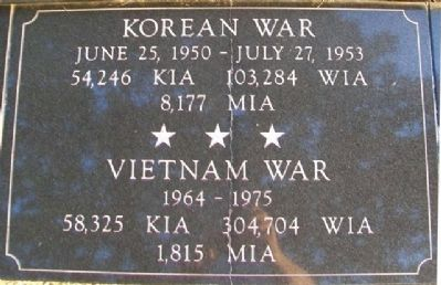 War Memorial Korea - Vietnam Marker image. Click for full size.