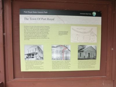 The Town of Port Royal Marker image. Click for full size.
