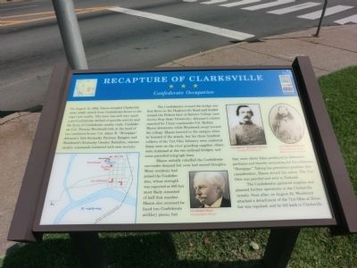 Recapture of Clarksville Marker image. Click for full size.