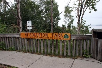 Resolution Park Entrance image. Click for full size.