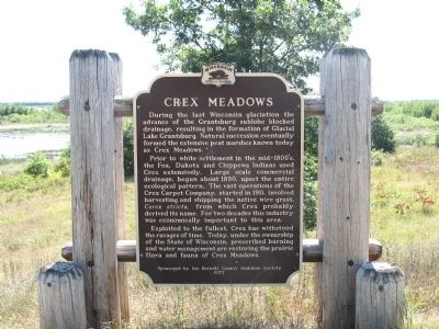 Crex Meadows Marker image. Click for full size.