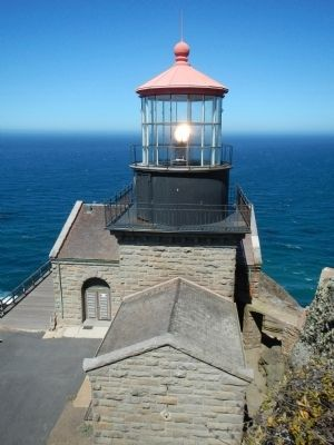 Point Sur Lighthouse image. Click for full size.