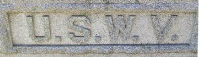 Spanish-American War Memorial Detail image. Click for full size.