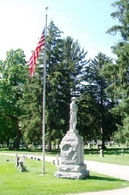 Spanish-American War Memorial image. Click for full size.