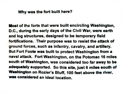 Why was the fort built here? image. Click for full size.