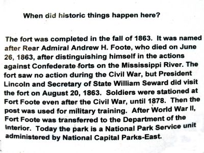 When did historic things happen here? image. Click for full size.