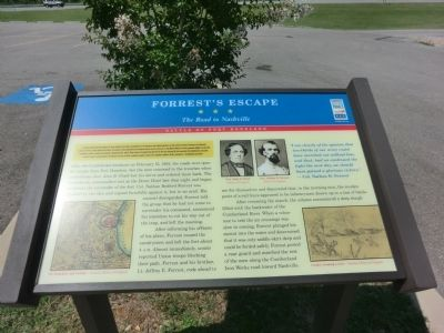 Forrest's Escape Marker image. Click for full size.