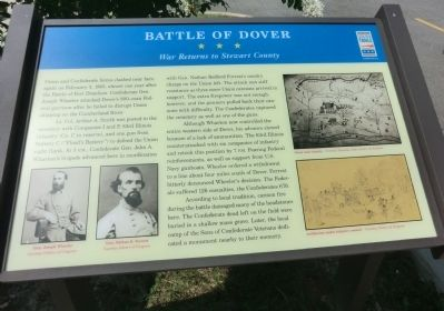 Battle of Dover Marker image. Click for full size.