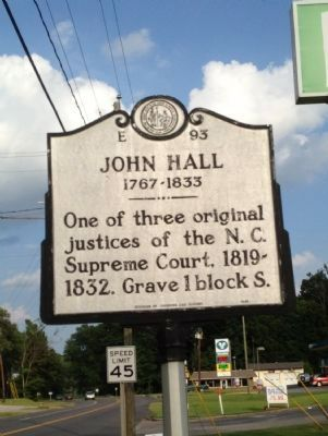 John Hall Marker image. Click for full size.