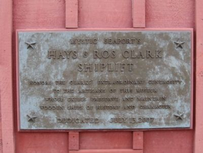 Hays & Ros Clark Shiplift Marker image. Click for full size.