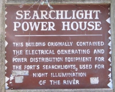 Searchlight Power House Marker image. Click for full size.