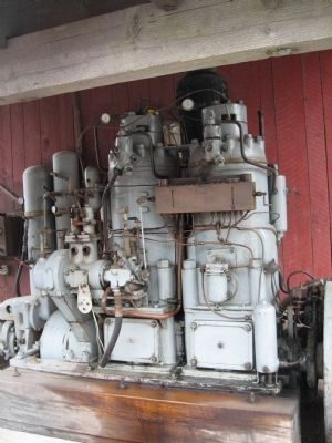 Wichmann Semi-Diesel Engine image. Click for full size.