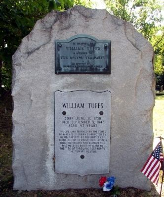 William Tuffs Memorial image. Click for full size.