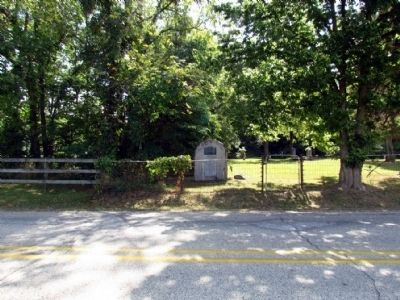 William Tuffs Memorial<br>in the Northeast Corner of Bonneyville Cemetery image. Click for full size.