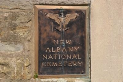 New Albany National Cemetery image. Click for full size.
