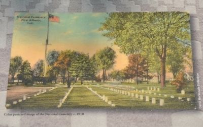 National Cemetery, New Albany, Indiana image. Click for full size.