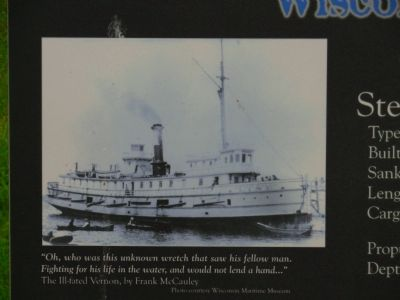 Steamer Vernon Marker image. Click for full size.
