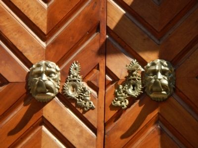 Mercantile Palace doors image. Click for full size.